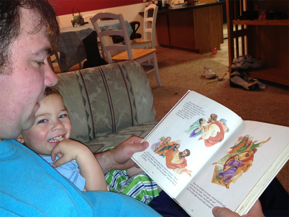 Bedtime Bible Story